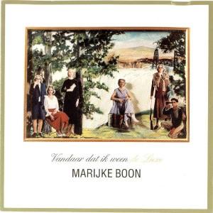 Marijke Boon - Vandaar dat ik ween (1994)